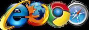 Ondersteunende browsers